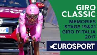 Riders memories about stage 19 and 21 of the Giro 2017 | Giro Classics | Cycling