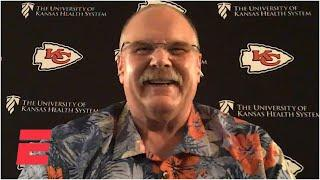Andy Reid talks Chiefs' draft strategy and Tommy Bahama shirts | NFL on ESPN