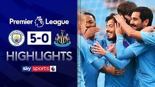 Silva stars as City smash FIVE past Newcastle! | Manchester City 5-0 Newcastle | EPL Highlights