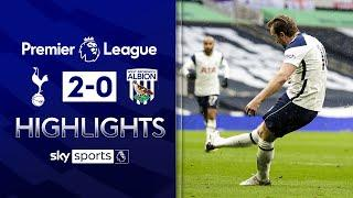 Harry Kane returns to fire Spurs to victory   Tottenham 2-0 West Brom   Premier League Highlights