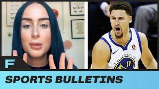 Klay Thompson EXPOSED By TikTok GIrl For Creeping Around On GF Laura Harrier