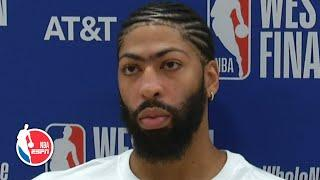 Anthony Davis on Lakers' win: Nuggets are 'not gonna go away' | 2020 NBA Playoffs