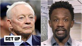 Reacting to Jerry Jones' critical comments after the Cowboys' win vs. the Falcons | Get Up