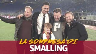 SMALLING SURPRISE! | Luca's shock at meeting one of his heroes