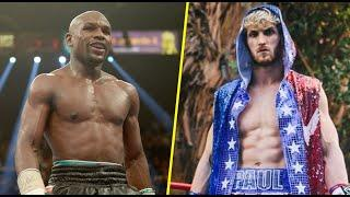WOW! FLOYD MAYWEATHER vs LOGAN PAUL IN THE WORKS FOR EXHIBITION MATCH!