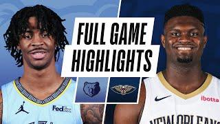 GRIZZLIES at PELICANS | FULL GAME HIGHLIGHTS | February 6, 2021