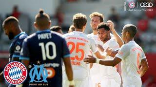 Nice Serge Gnabry Dribbling Goal for the Win! FC Bayern vs. Olympique Marseille 1-0 | Highlights
