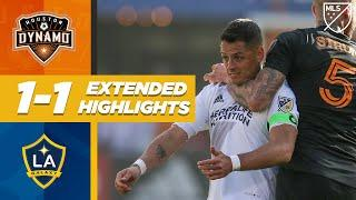 Houston Dynamo 1-1 LA Galaxy | Chicharito is Shackled But Pavon Scores! | MLS EXTENDED HIGHLIGHTS
