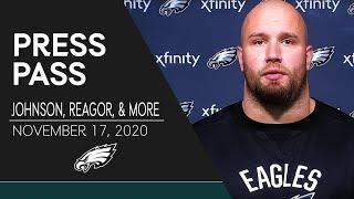 """Lane Johnson: Eagles Have to """"Come Out Fighting"""" vs. Browns 