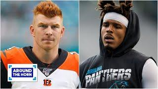 Should the Patriots go after Andy Dalton or Cam Newton? | Around the Horn