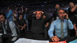 Commentator Reactions to UFC Upsets