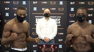 WHO WILL BE CROWED KING OF LEWISHAM? - DAN AZEEZ v ANDRE STERLING (FULL) WEIGH IN & HEAD-TO-HEAD