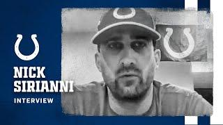 NICK SIRIANNI ON ADDING PHILIP RIVERS TO COLTS OFFENSE