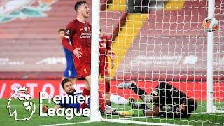 Olivier Giroud pulls one back for Chelsea against Liverpool | Premier League | NBC Sports