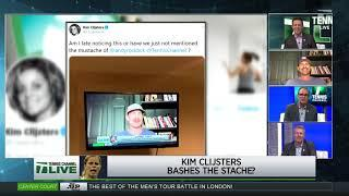 Tennis Channel Live: Social Net, Andy's Mustache, Jimmy Connors