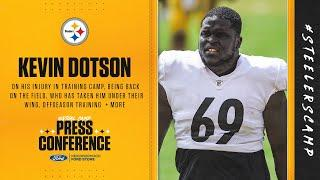 Steelers Virtual Camp Press Conference (Aug. 31): Kevin Dotson | 2020 Training Camp