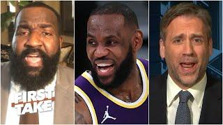 Perk: LeBron will be the 'undisputed GOAT' if the Lakers beat the Nets in the Finals | First Take