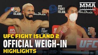UFC Fight Island 2 Official Weigh-In Highlights - MMA Fighting
