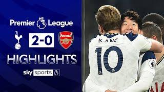 Kane and Son lead Spurs to derby victory   Tottenham 2-0 Arsenal   Premier League Highlights