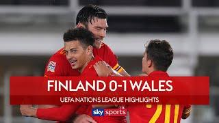 Kieffer Moore grabs win for Wales!  | Finland 0-1 Wales | UEFA Nations League Highlights
