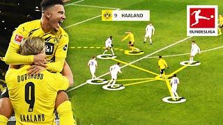Jadon Sancho and Erling Haaland - What Makes Them so Good?   Analysis