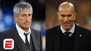Barcelona's Quique Setien or Real Madrid's Zinedine Zidane: Whose future is more secure? | La Liga