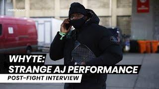"""""""AJ was trapped between styles"""" - Dillian Whyte talks Joshua vs Pulev & Povetkin rematch"""