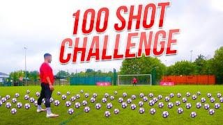 EXTREME 100 BALL SHOOTING CHALLENGE | F2Freestylers | Billy Wingrove & Jeremy Lynch