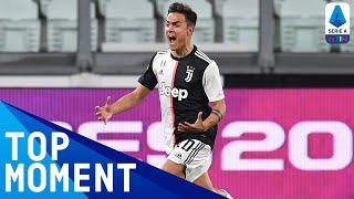 Dybala Curls In BRILLIANT Goal Before Half-Time! | Bologna 0-2 Juventus | Top Moment | Serie A TIM