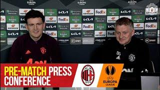 Pre-Match Press Conference | Manchester United v AC Milan | UEFA Europa League