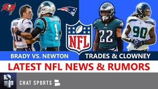 NFL News: Cam Newton vs. Tom Brady & Stidham, Patriots Cheat, Jadeveon Clowney Latest, Trade Rumors