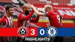 Sheffield United 3-0 Chelsea   Premier League highlights   McGoldrick double in huge EPL win!