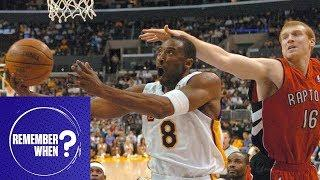 Remember When Kobe Bryant Dropped 81 Points On The Raptors? | Remember When