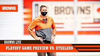 Playoff Game Preview vs. Steelers in Super Wild Card Weekend