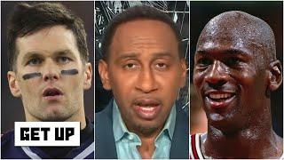 Stephen A. says 'no way on earth' Tom Brady will ever pass Michael Jordan as the greatest | Get Up