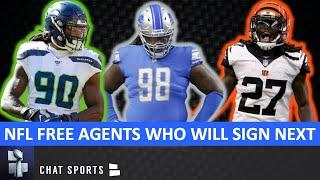 Top 7 NFL Free Agents Left Who Should Sign Next