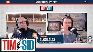"""Alexi Lalas On Alphonso Davies: """"This Is A Great Player"""" 