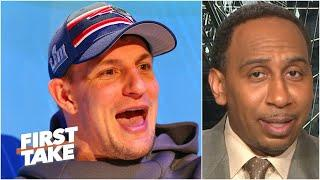 Stephen A. reacts to the Patriots trading Rob Gronkowski to the Bucs | First Take