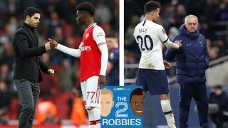 Arsenal and Tottenham: State of the Premier League | The 2 Robbies Podcast | NBC Sports