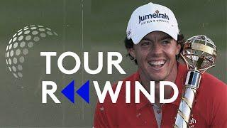 World Number 1 Rory McIlroy wins 2012 DP World Tour Championship AND Race to Dubai | Tour Rewind