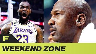 Lebron James Claps Back At Windhorst & Michael Jordan's Pizza Delivery Guy Takes L Of The Week | WEZ