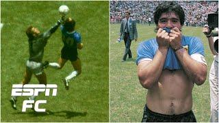 Remembering 'the tormented genius' Diego Maradona & the Hand of God | ESPN FC