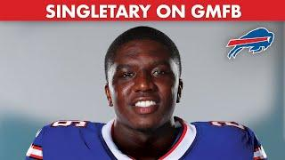 Devin Singletary Is Hungrier Than Ever Going Into Year 2 | Buffalo Bills x GMFB
