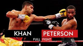 Amir Khan's thrilling & controversial battle against Lamont Peterson | Fight Rewind