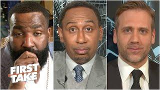 Is Russell Westbrook a Top 10 NBA Player? Stephen A., Kendrick Perkins & Max debate | First Take