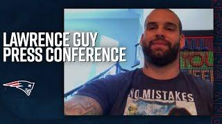 Lawrence Guy Reacts To Being Named to the Patriots All Decade Team | Press Conference