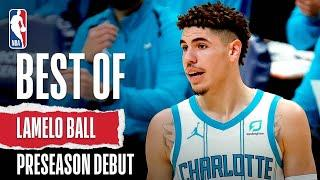 LaMelo Ball SHOWS OUT With Flashy Dimes In #NBAPreseason Debut