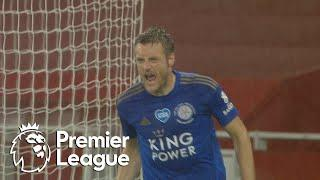Jamie Vardy nets late equalizer for Leicester City against Arsenal | Premier League | NBC Sports