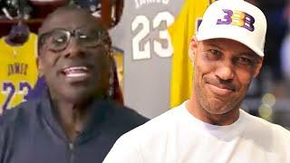 """Shannon Sharpe ROASTS Lavar Ball """"Can't Beat Zion In His Prime, w/ Amazon Prime, Any Type Of Prime!"""""""