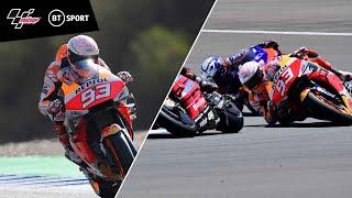 From 18th to 3rd to hospital! This is why Marc Márquez is pure Box Office | Pure determination